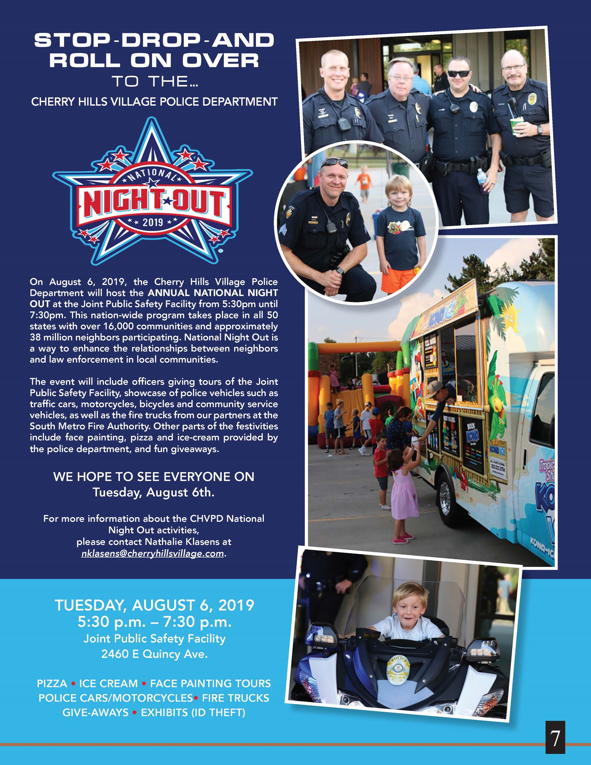 National Night Out Flyer 2019