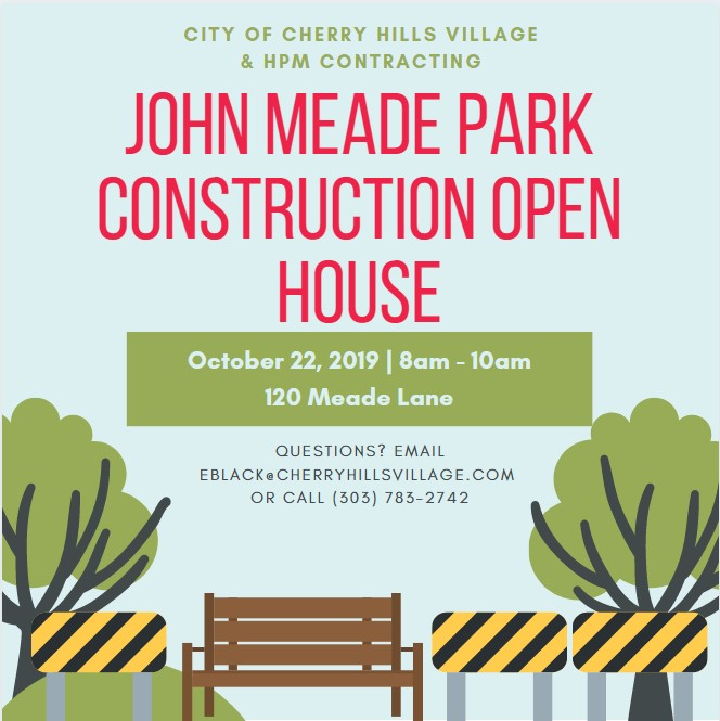 Invitation to JMP Construction Open House